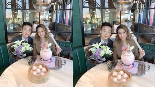 阔太徐子淇提前庆祝37岁生日,晒自家所创蛋糕品牌,从阔太转型为女强人