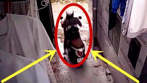 少妇前脚刚出门,就遇到这种事,监控拍下这愤人画面!