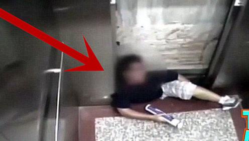 男子坐电梯回家,突然祸从天降,生前最后画面被监控拍下!