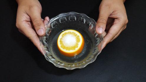 冰糖橙加食盐一起蒸着吃,原来这么厉害,我也是刚学会,涨知识了
