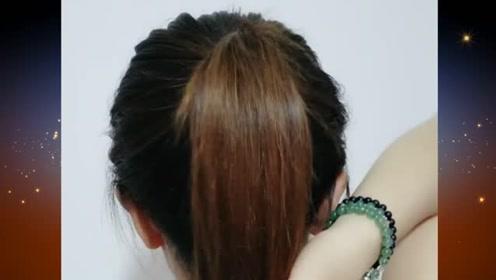 非常适合现在的扎发发型,简约清爽又显休闲舒适,你不会简直太可惜了