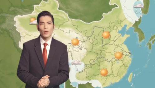 """萧敬腾当选""""天气之子"""",成功入职中国气象,官方盖章""""雨神""""真可怕!"""