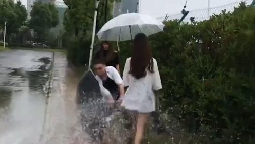 搞笑视频:兄弟 放着自己媳妇儿不管 你胆够大的