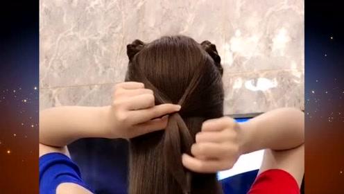 在家或出门都可以扎的扎发发型,简约时尚又不失优雅气质,赶快来学学吧