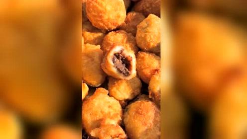 美食:山西油炸糕,了解一下,我吃过一次,挺美味的!