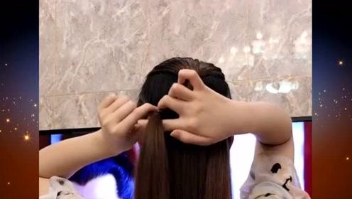 深受年轻女孩喜欢的扎发发型,简约时尚又好看,你喜欢吗