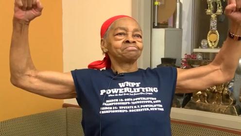 82岁健身大力老奶奶,暴力制服29岁非法入侵男子