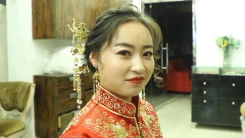 清华大学校花,刚刚毕业就嫁给一香港大叔,猜猜新郎啥身份