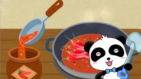 小熊猫收到小鸟信件,按照要求做出各种食物,简直也太厉害!