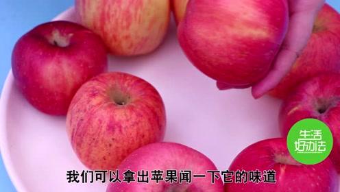 苹果好不好吃,看一下这个小机关,我也是才知道,苹果个个香甜