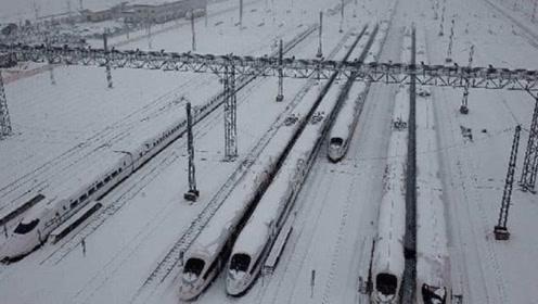暴雪天气时,高铁是怎么应对的?看完可以放心回家了!