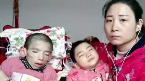 宝妈照顾脑瘫孩子获百万粉丝,宁愿不做网红只要孩子健康