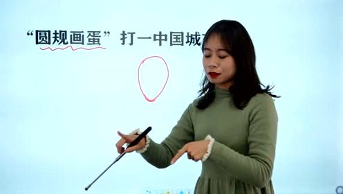 """六年级脑力测试:""""圆规画蛋"""",说的是中国哪一座城市?"""