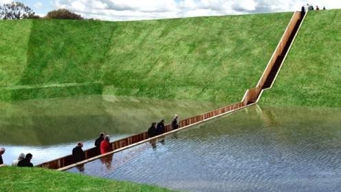 """全球唯一的""""隐身桥"""",工人将图纸看错,反倒造出一条奇迹桥梁!"""