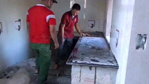 原来厨房灶台是这样安装的,这技术值得借鉴吗?