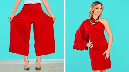 7个时尚小窍门与服装DIY技巧,简单又好看,女孩们值得拥有!