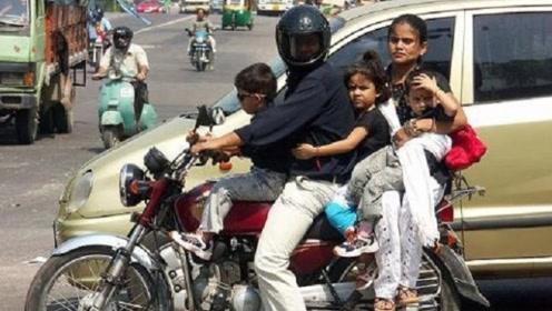 印度土豪问中国游客:你们那买得起摩托车吗?中国人淡定回应三个字