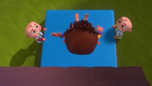 小孩总半夜偷吃甜食,听见医生俩字就逃跑,从房顶摔了下来!