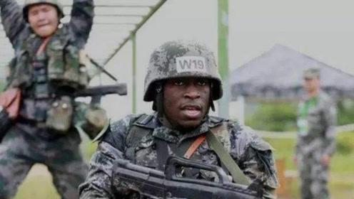 中国部队出现黑人士兵,还都是正式编制,这是怎么回事呢?