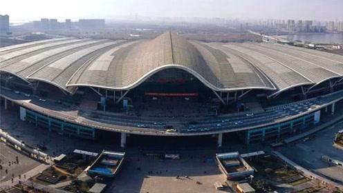 我国最美的火车站,占地37万平方米,看完让人赞叹不已!