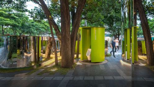 还在羡慕日本卫生?中国最美公厕诞生,不仅成网红景点还自带高科技!