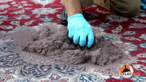 中国人为什么不用地毯?看到老外的清洗过程,幸好家里都没有!