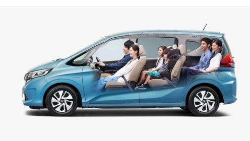 七座版的本田飞度FREED配电动双侧滑门,售11.2万,还看啥国产车?