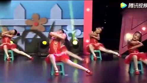 少儿舞蹈《明天我要上学了》
