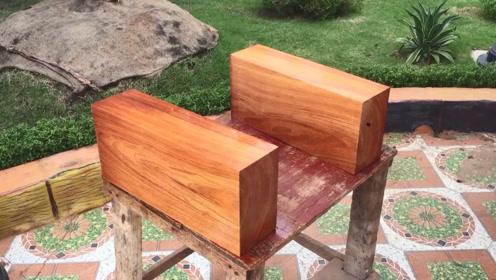 开局两块木头,看起来不咋地,到最后金碧辉煌,这装修真豪华