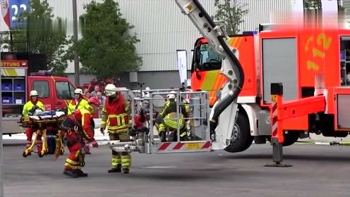 看了美国的消防设备,才知道什么叫先进,不得不服!