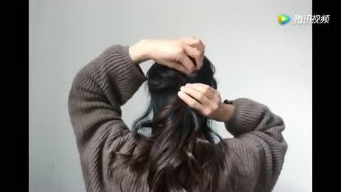 最适合长发的一款披肩发时尚造型!美呆了!