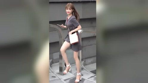 西安街拍:小姐姐这个气质简直了,是多少30岁男人的理想型啊