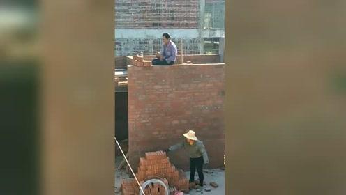 老泥瓦工盖房子,他们是最佳搭档