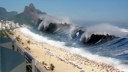 海啸的破坏力为什么如此强大?看完形成过程,看完后背一凉!