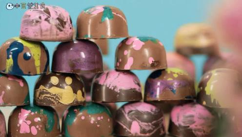 切、捏、挤巧克力视觉盛宴,看完后不想去买巧克力的,算我输!