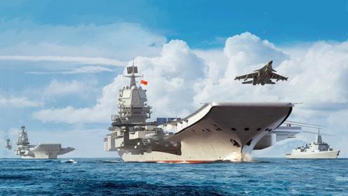 002航母在此航行,跨海区测试创新纪录,关键时刻美侦察机又来搅局