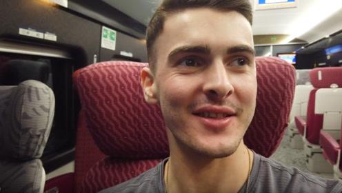 美国人来中国出差,乘坐地铁时感叹:美国啥时候能做到?