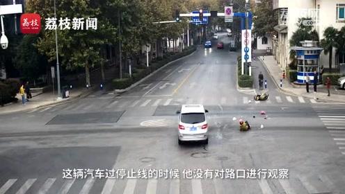电瓶车被撞飞十余米担主责 原因竟是闯红灯