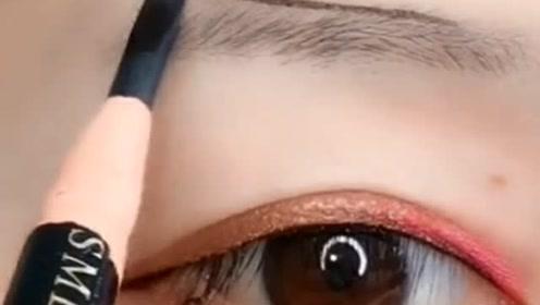 新手化妆这样画眉,超级简单又好看,一看就会