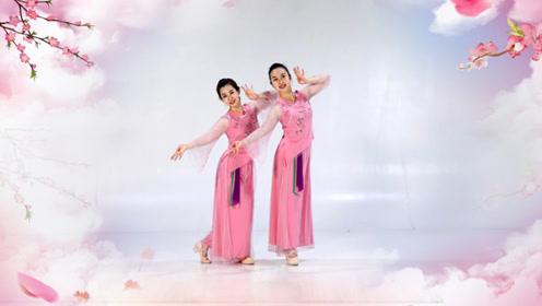 糖豆广场舞课堂《桥边姑娘》全网最火爆的网红古典舞