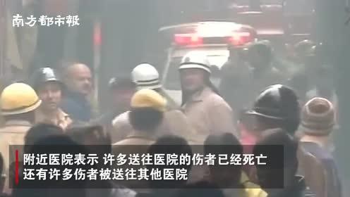 印度一工厂大火已致43人死亡,消防部门因不知有人被困延迟救援