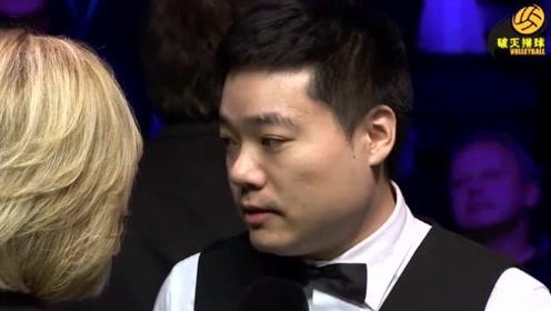 英锦赛夺冠,丁俊晖赛后冠军采访:这个冠军我努力了两年!