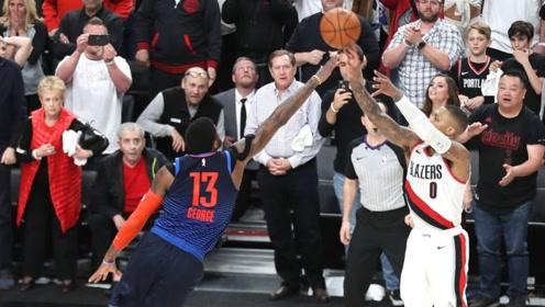 NBA后撤步绝杀大合集 利拉德超远三分弑杀雷霆