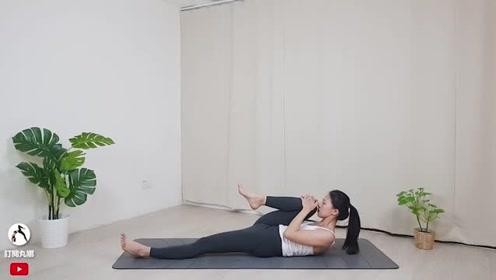 睡前伸展放松阴瑜伽