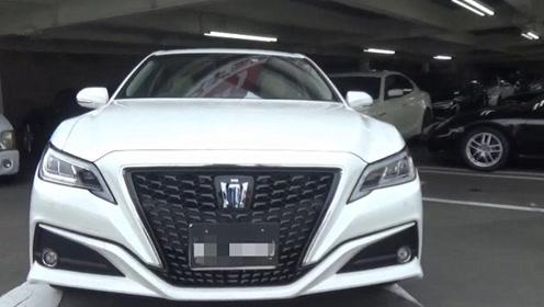总算见到实车了,30万的2020款丰田皇冠混动版,坐进后排太舒适了