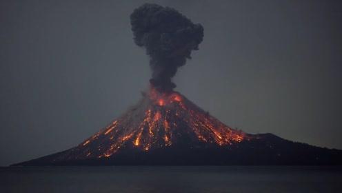 火山喷发实景记录,带你看看火山喷发的壮丽景象