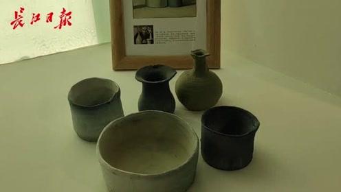 非遗传承人研修班教学成果展在汉展出,用陶艺还原莫兰迪名作