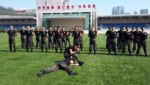 帅帅帅!驻澳部队霸气登场 展示日常硬核训练