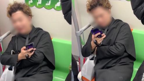 男子地铁内一人占两座,遭指责后反怒怼:管得着吗?爱咋地咋地