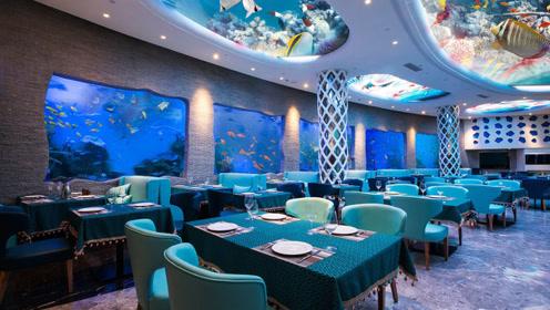 奇葩!修建在水下33米深处的餐厅 吃一顿饭就要3000元